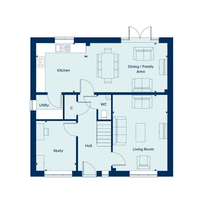 Gound floor plan floorplan image