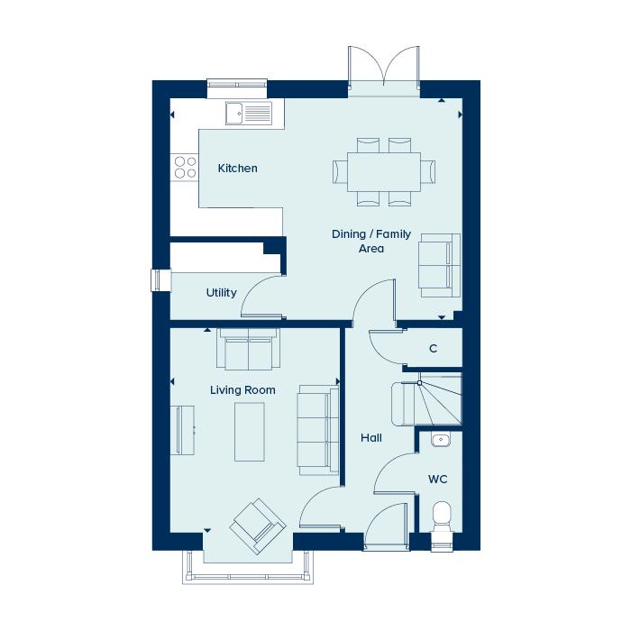 The Romsey - Ground Floor