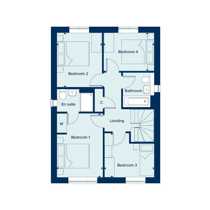 The Romsey - First Floor