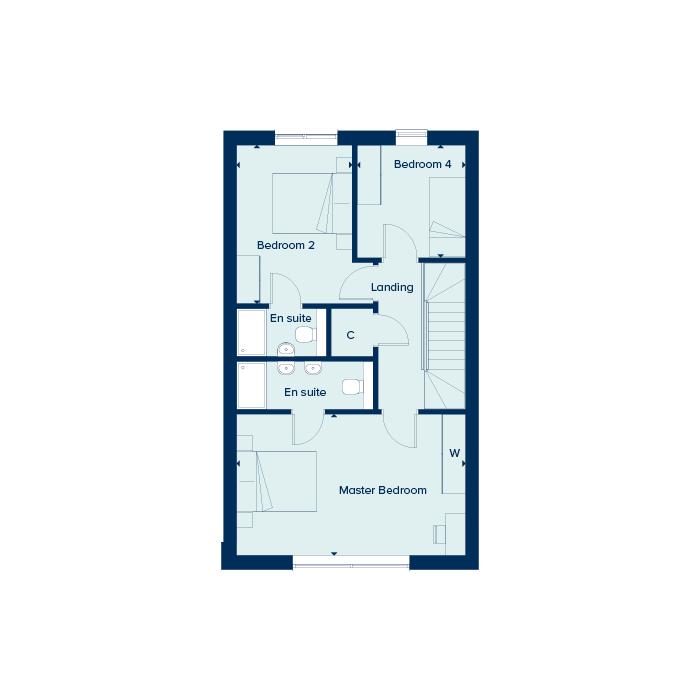 The Kingfisher - Second Floor
