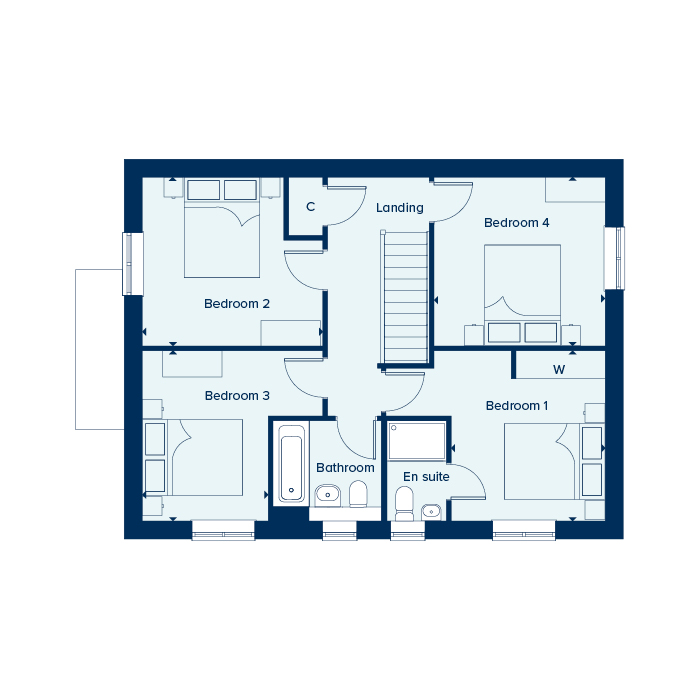 The Marlborough - First Floor
