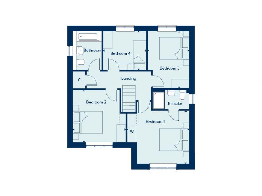 Dartford First Floor Plan