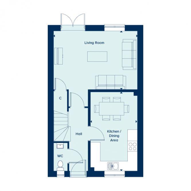 Evesham Ground Floor