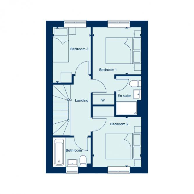 Hatfield first floor