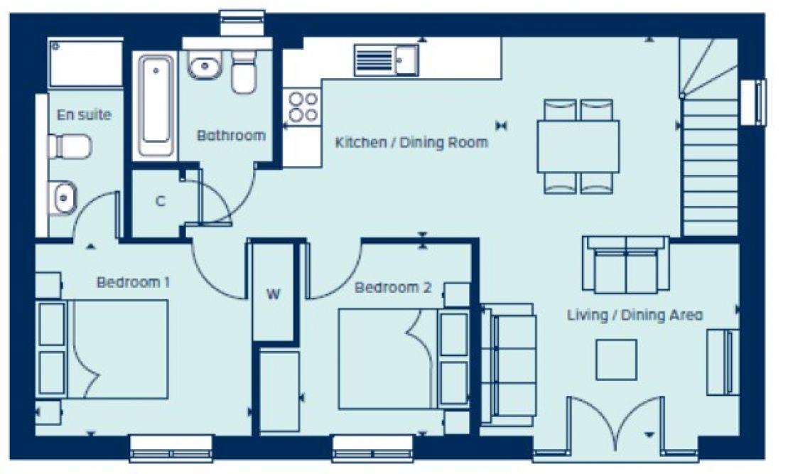 Dromer Floorplan