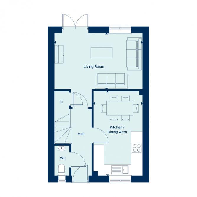 Hatfield Ground Floor