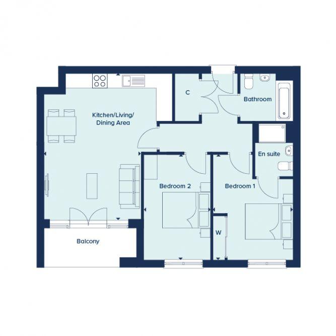 GGA floor plan