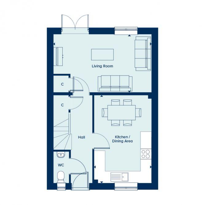 Redgrave Ground Floor