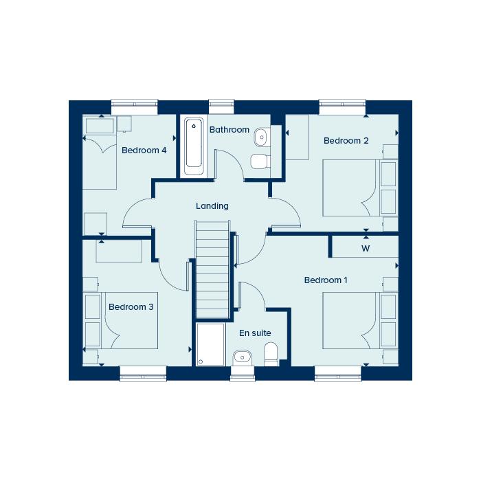 The Keswick - First Floor