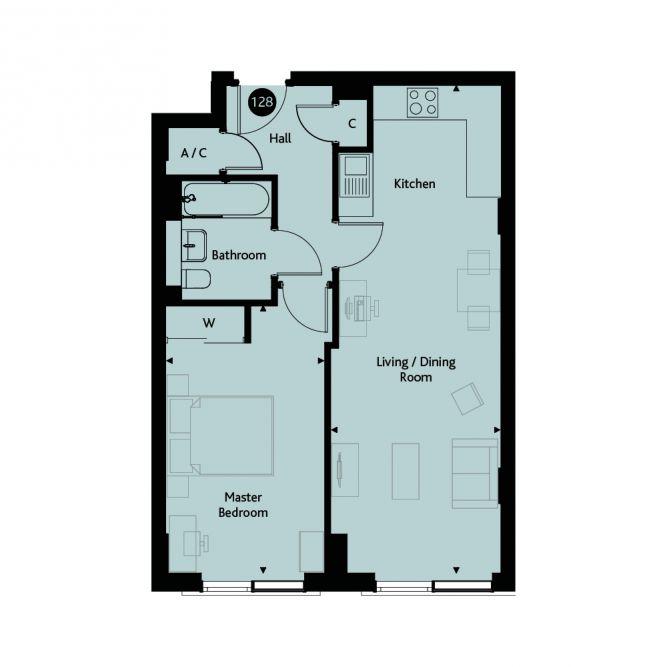 1F Floor plans