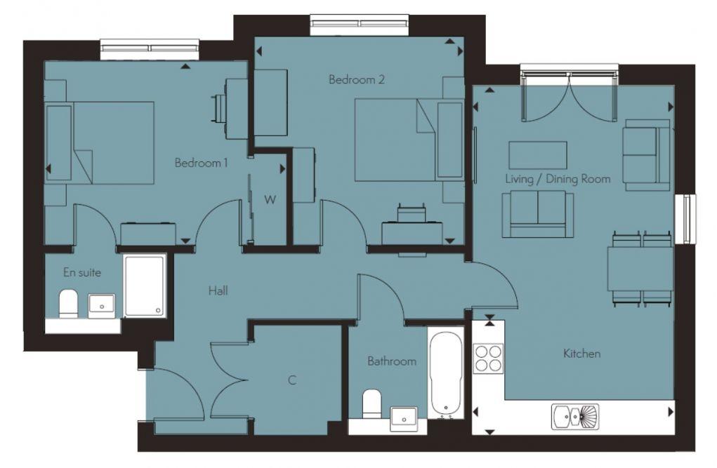 Duma floor plan