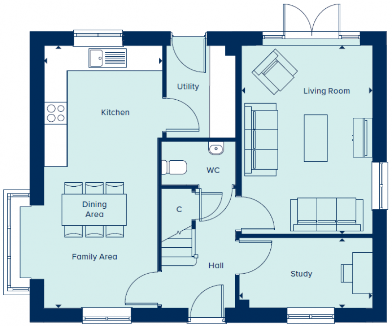 The Keswick V2 floor plans