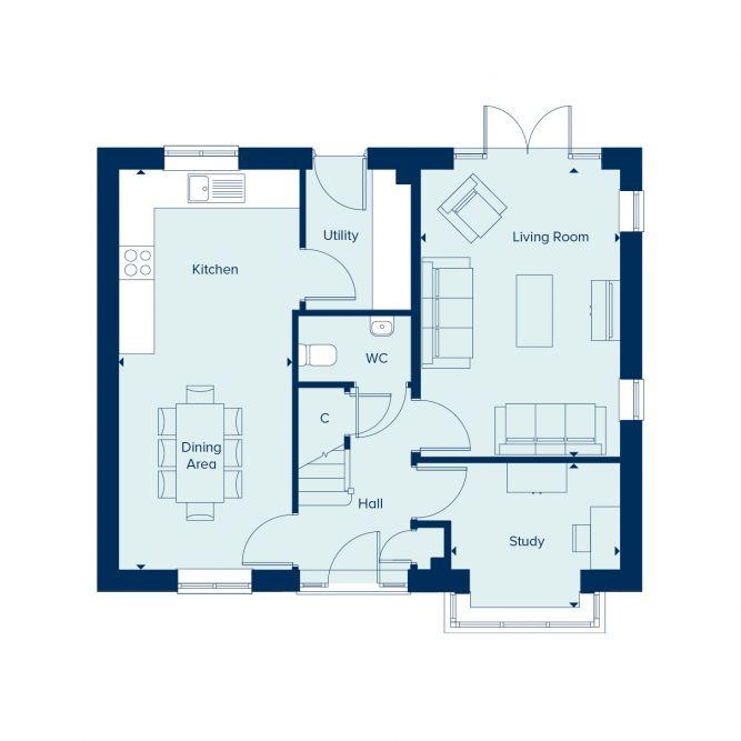Keswick ground floor