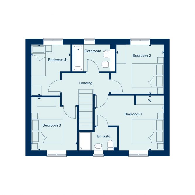 Keswick First floor